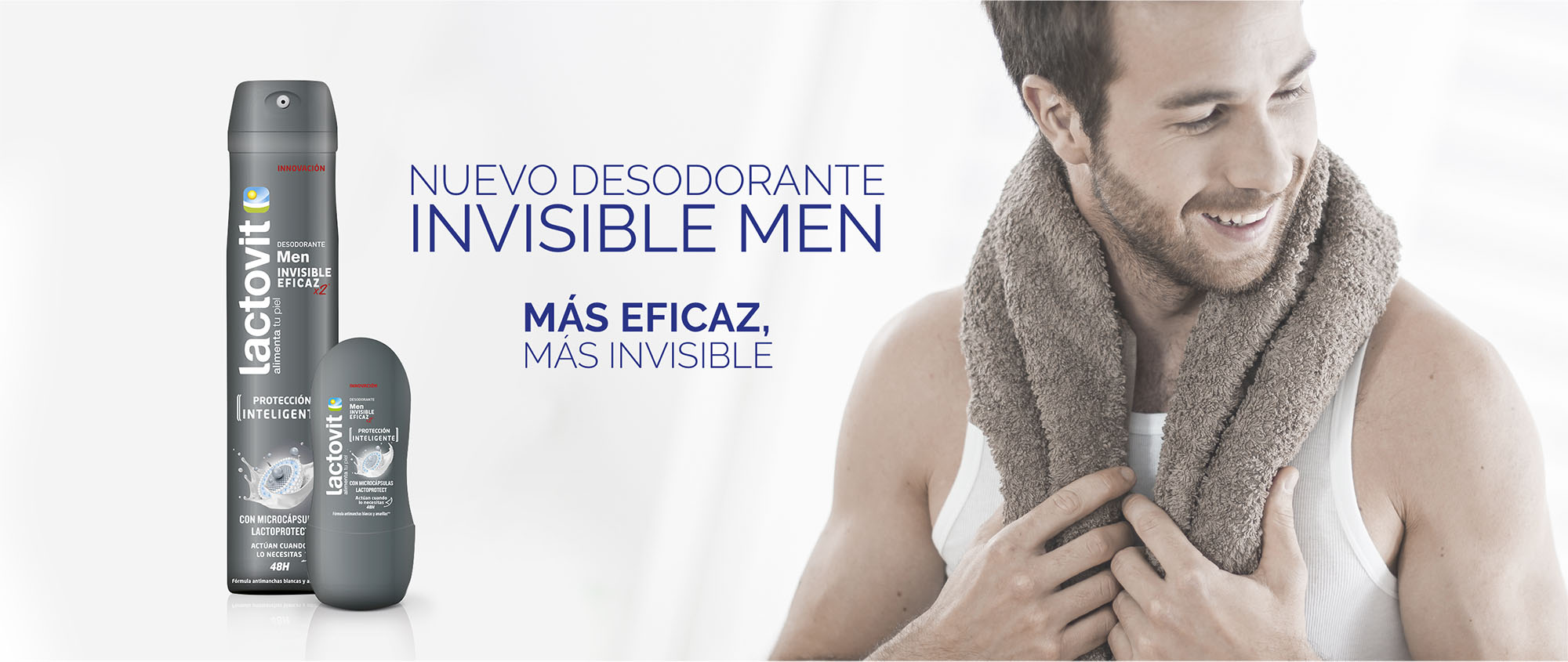Nuevo Desodorante Invisible Men