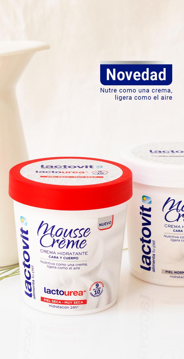 Productos novedosos. Crema hidratante en formato mousse para cara y cuerpo