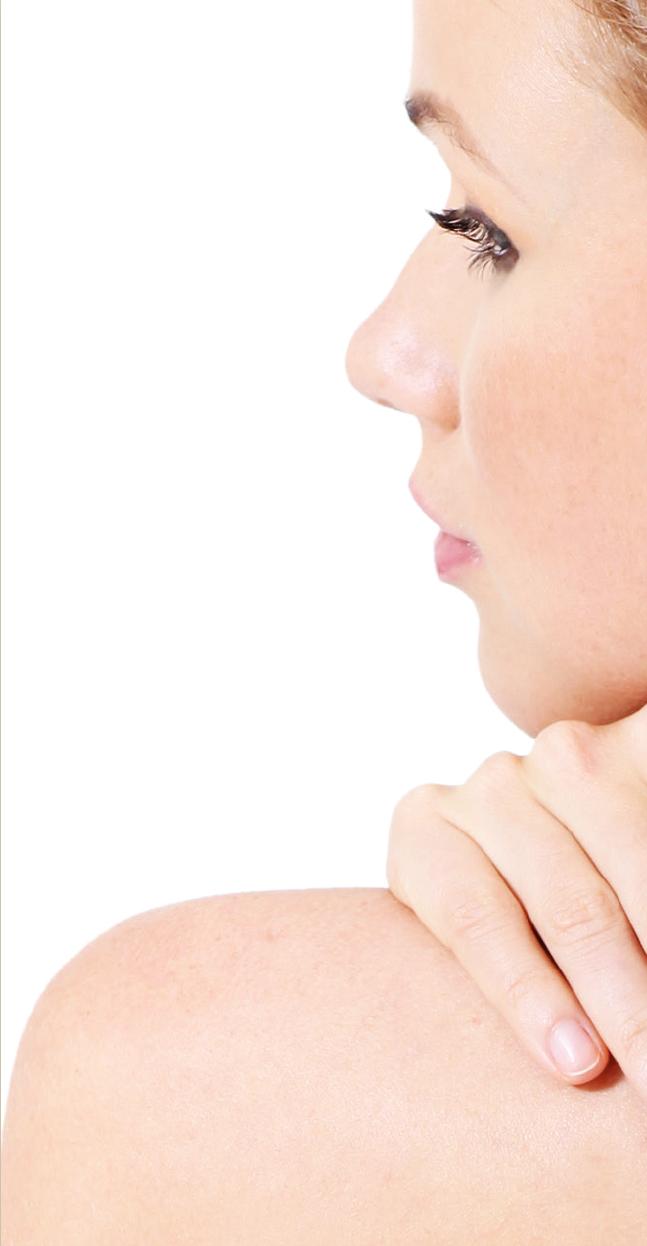piel de mujer hidratada