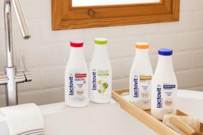 Geles de baño para todo tipo de pieles lactovit