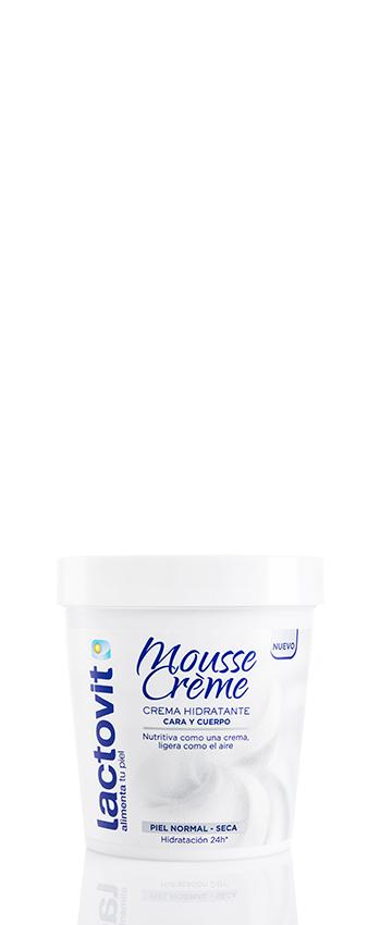 Crema corporal mousse nutritiva lactovit