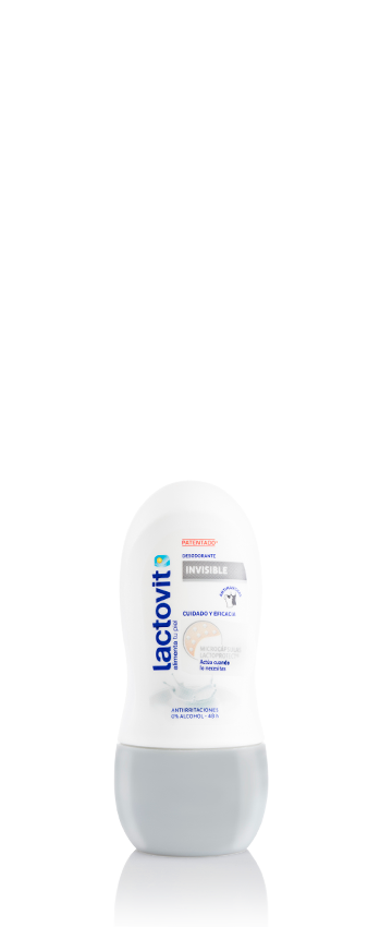 Desodorante roll-on invisible lactovit