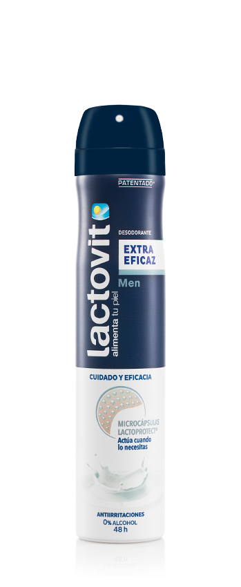desodorante spray extra eficaz hombre