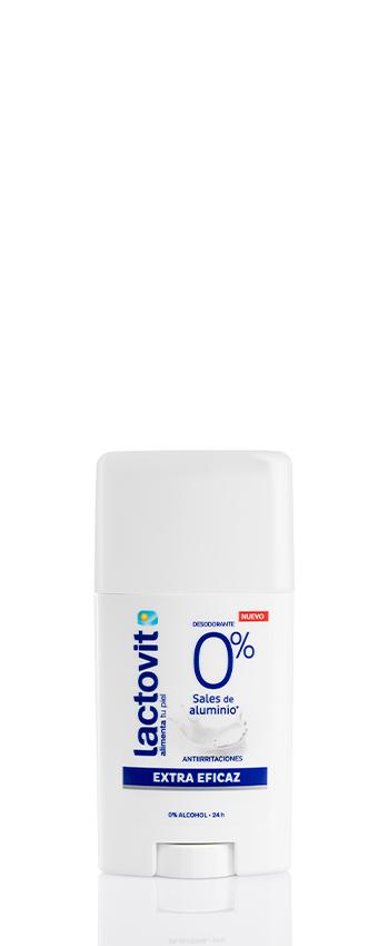 Desodorante stick extra eficaz lactovit sin sales de aluminio