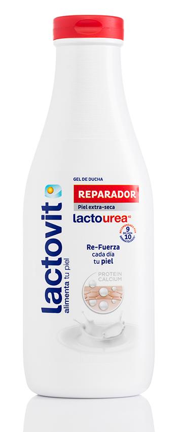 Gel de ducha lactourea para piel seca
