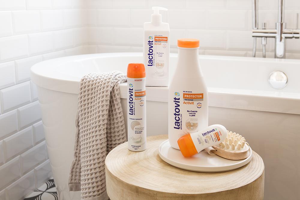 productos lactovit, gama protectora con probioticos para tu piel
