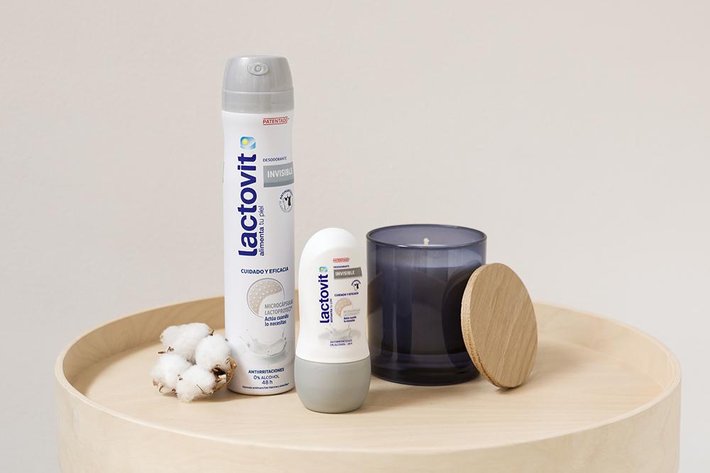 desodorante lactovit gama sensible, spray o roll-on