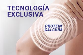 tecnologia exclusiva lactovit, proteína y calcio