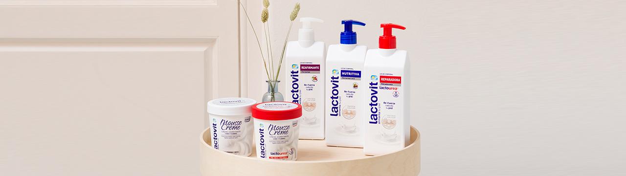 kit de hidratación corporal para la piel, formato mousse y dispensador